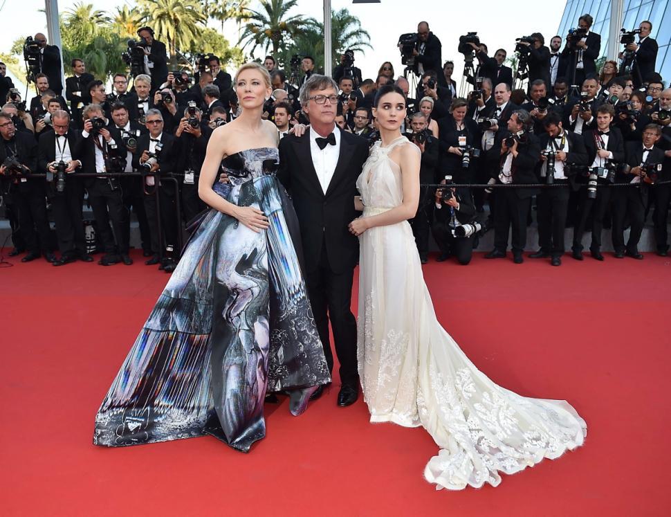 Cate Blanchett, Todd Haynes Y Rooney Mara