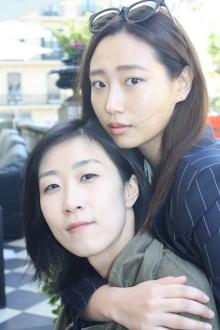 Lee Hyun-ju directora de Our love story y  Ryu Sun-young  actriz