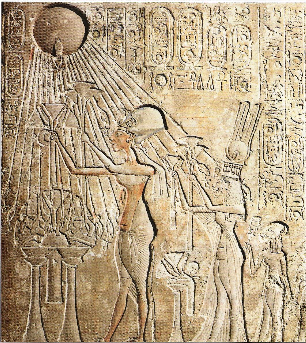 015 Relieve de Akhenaton y Nefertiti 1