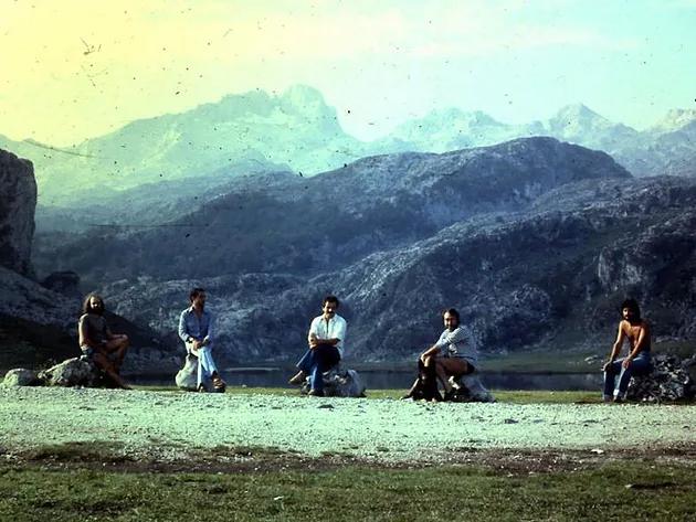 Lluís Escribano, Ramón Massa, Enric Benz, Cesc Pérez y Alfons de Sierra fueron Els 5 QK's (Los Cinco Penes, vamos)