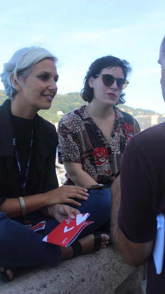 Constanza Arena y Elisa Leiva