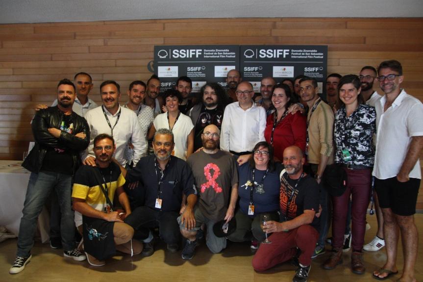 Rebordinos director San Sebastián con el IV Encuentro LGTBI Iberoamericano