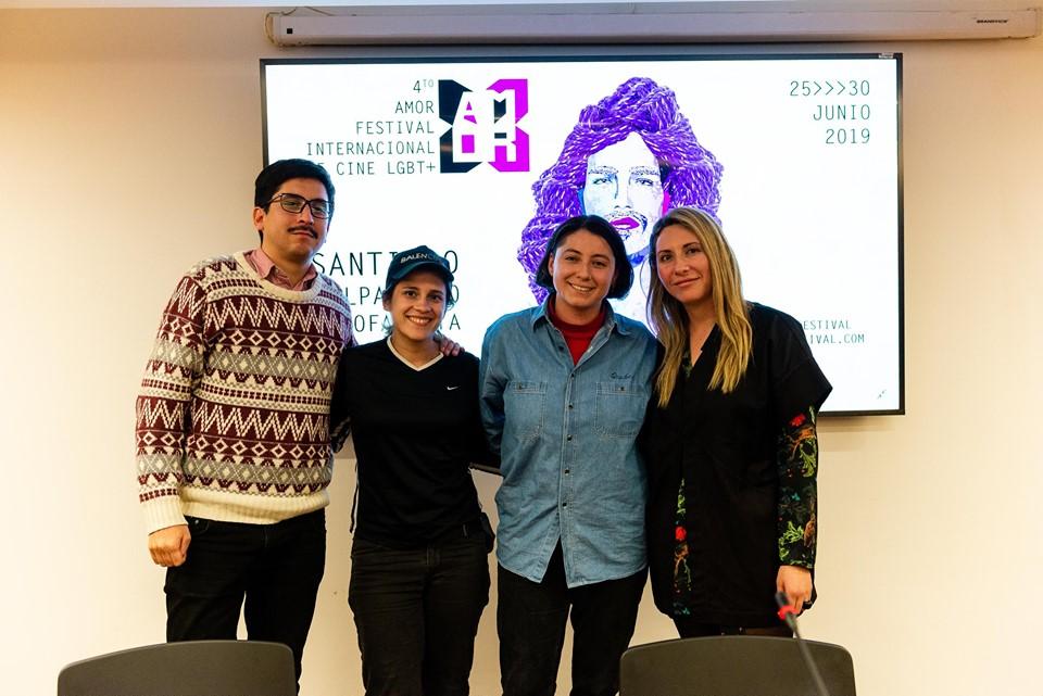 4to Amor Festival Internacional LGTB+ presentación de las producciones LTGB+ chilenas