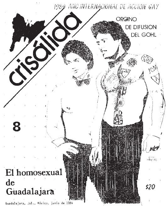7 Sebastiane Latino. Crisalida. Revista gay de Guadalajara, 198