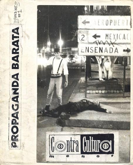Sebastiane Latino. Fanzine de Tijuana, Contracultura Menor