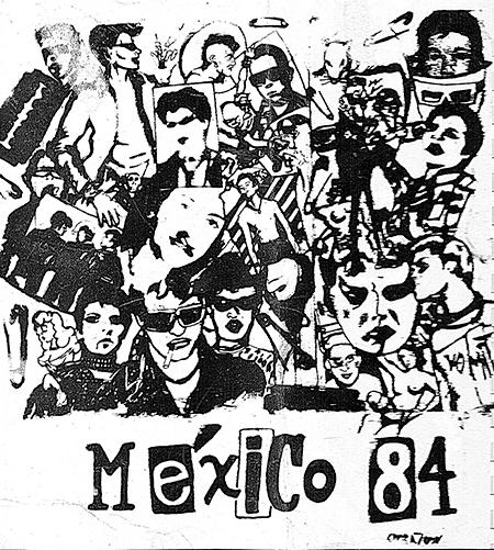 7 Sebastiane Latino.Fanzine punk. Ciudad de México 1984.