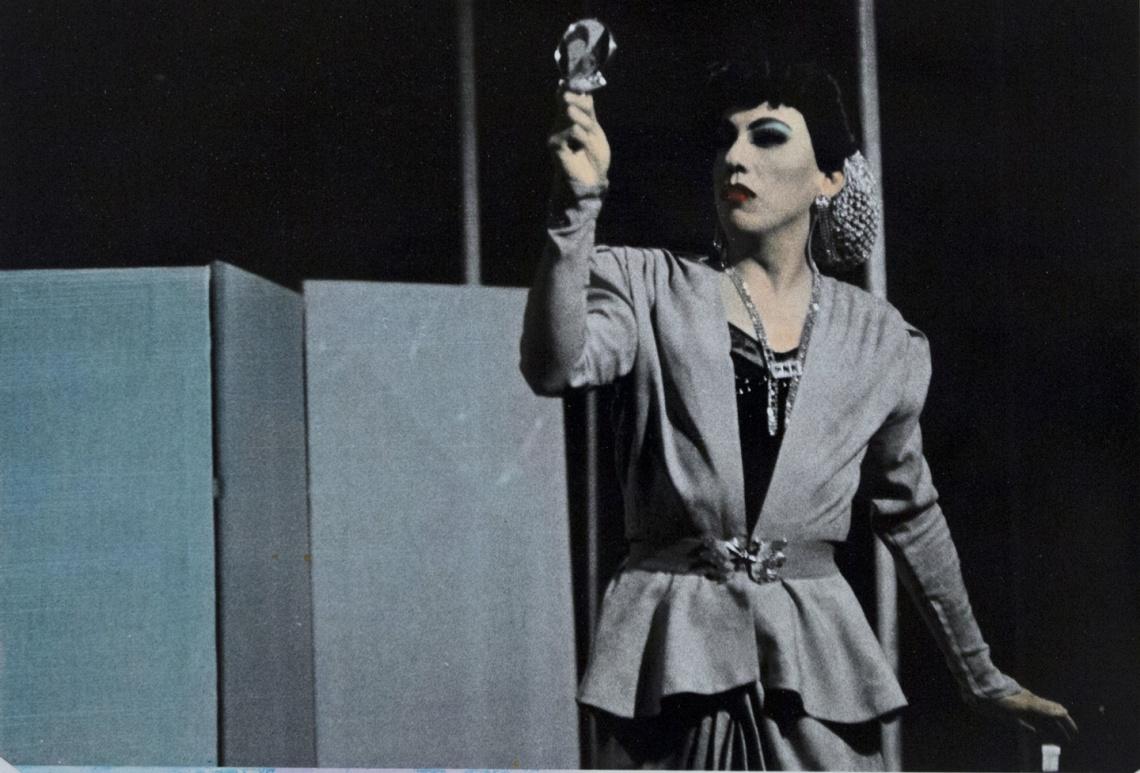 Tito Vasconcelos, actor y dramaturgo. Foto agustín Márquez Castro